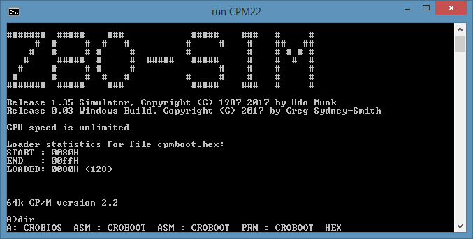 CP/M Programs for Windows - sydneysmith com